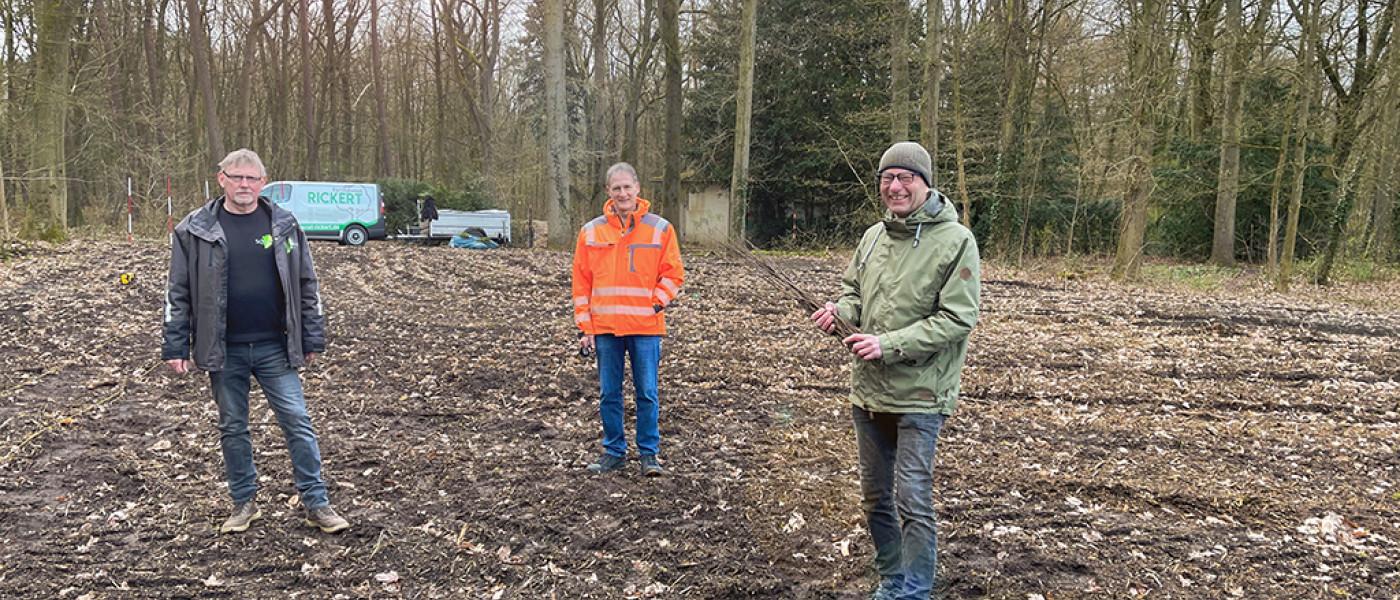 4000 Gehölze in Elmshorn gepflanzt