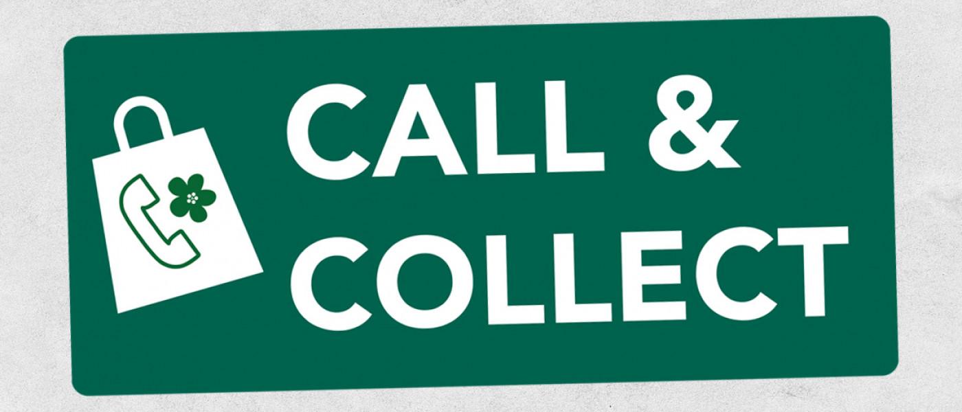 Call & Collect - Einfach bestellen und abholen oder liefern lassen!