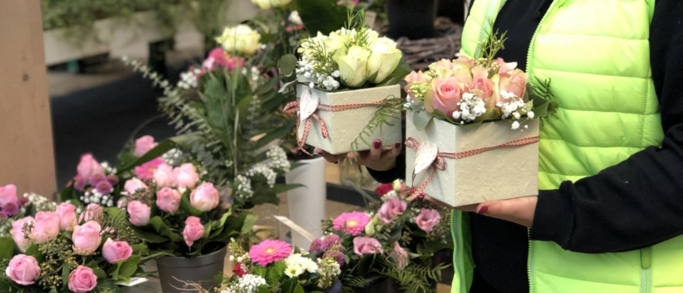 Die schönsten Liebeserklärungen tragen Blüten