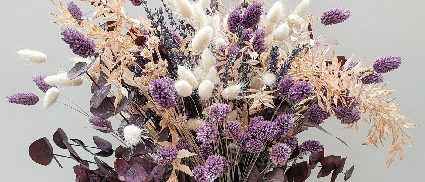 Fünf Tipps, damit Trockenblumen länger halten