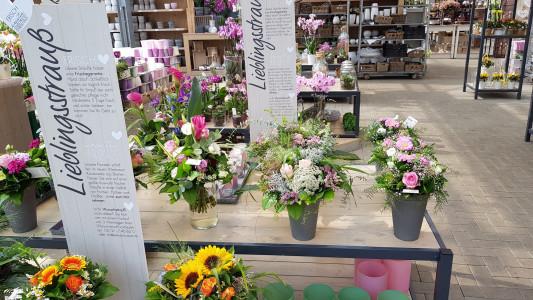 Rostock Gartencenter | Lieblingsstrauß: frisch - kreativ - handgemacht
